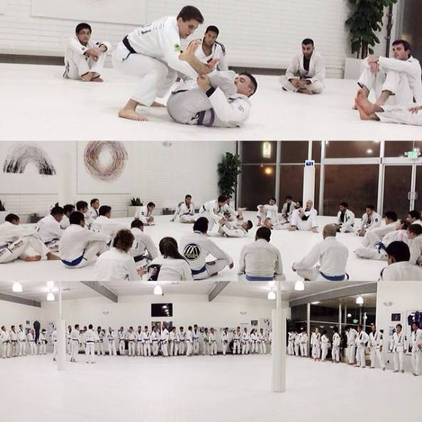 Source: Mendesbros.com - training at the Art of Jiu Jitsu, Mendes Brothers